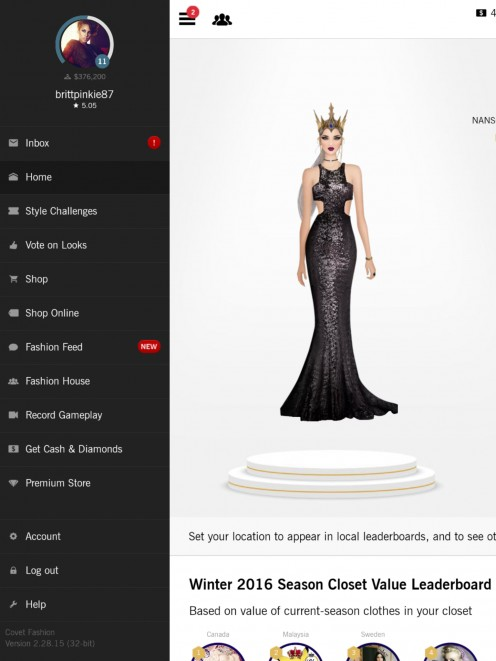 Free Diamonds And Money For Covet Fashion