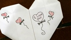 How to Make a Last-Minute Valentine Out of Printer Paper