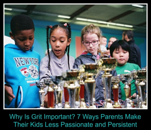 Kids don't learn grit when they get a trophy just for being on the team.