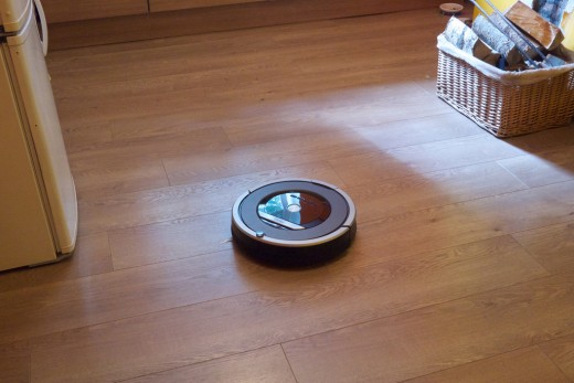 iRobot Roomba 870 at work.