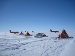 Field Camp on the Pine Island Glacier