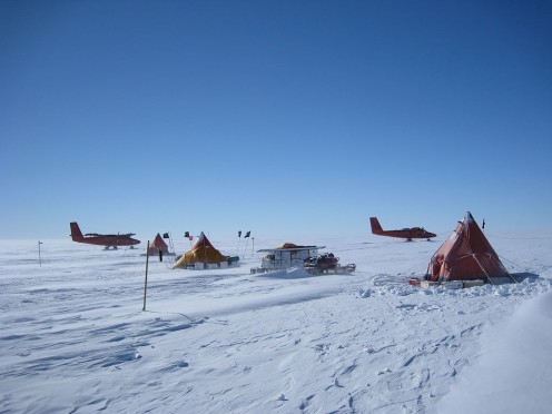 Field Camp on the Pine Island Glacier