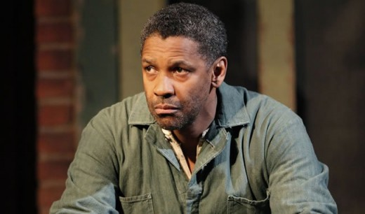 "Denzel Washington in ""Fences"""