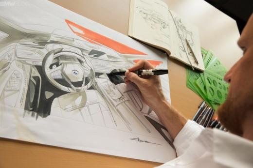 BMW Interior Designer at work