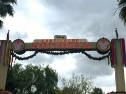 Festival Of Holidays At Disney's California Adventure