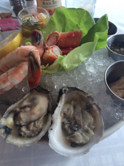 Elegant lunch in Chicago: Riva Crabhouse, Navy Pier