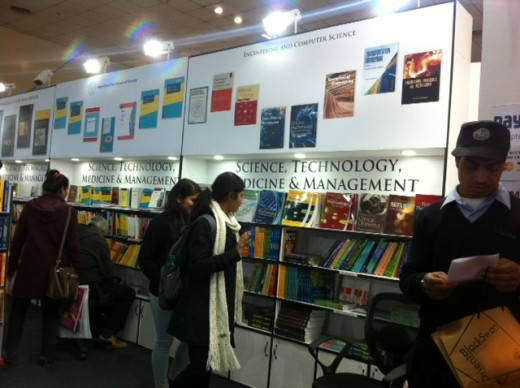 Book lovers taking a keen interest at the World book fair 2017, New Delhi