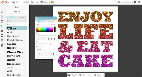 You get much more freedom with regards to adding fancy-looking text and quotes to your images and even editing said images if you go with programs like Adobe Photoshop, PicMonkey or GIMP. You can even add special effects to your pictures.