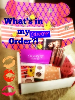 What's in My Colour Pop Order?!