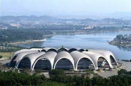 Largest and most modern stadium.  May Day Stadium, Pyongyank N. Korea