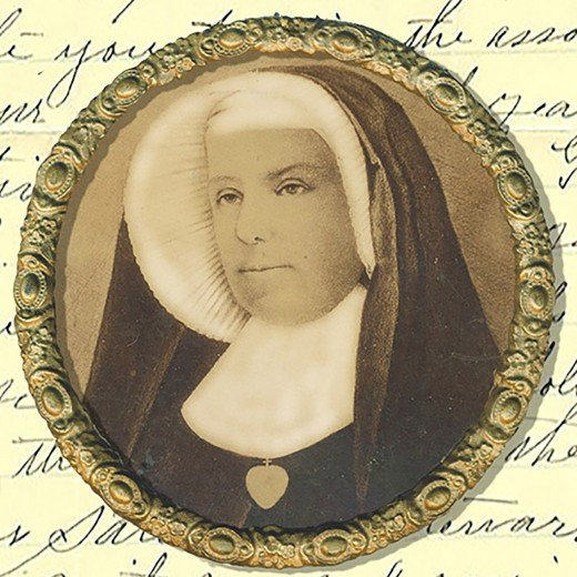 Painting of Mother Angela (Gillespie) CSC
