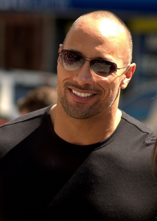 "Dwayne ""The Rock"" Johnson - actor"