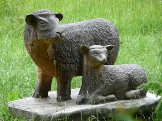Art woodcrafters can do a variety of carvings. They are limited by their imagination and skills.