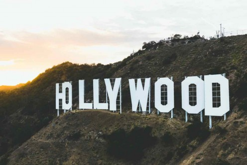 The Hollywood sign is one of the most famous symbols of Los Angeles.