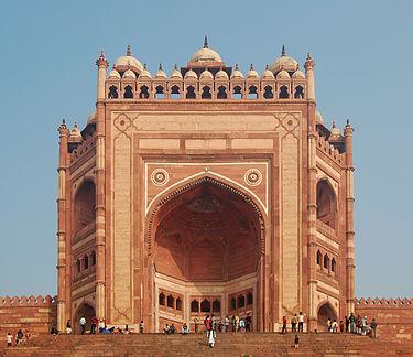 Buland Darwaza (lofty gate) Entrance to Fatehpur Sikri complex