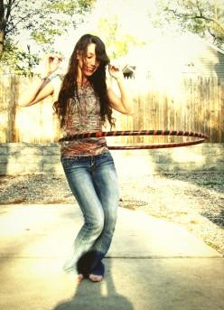 Make Exercising Fun with a Hula Hoop