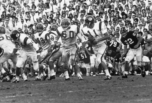 Steve Spurrier, number 11 in 1964. Spurrier also won the Heisman Trophy in that same year.