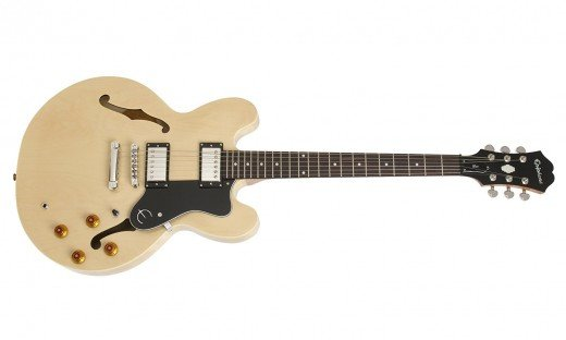 Epiphone Dot: One of the best semi-hollow body guitars for under $500.