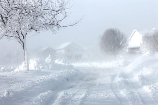 A December 19-20, 2012 blizzard in Iowa
