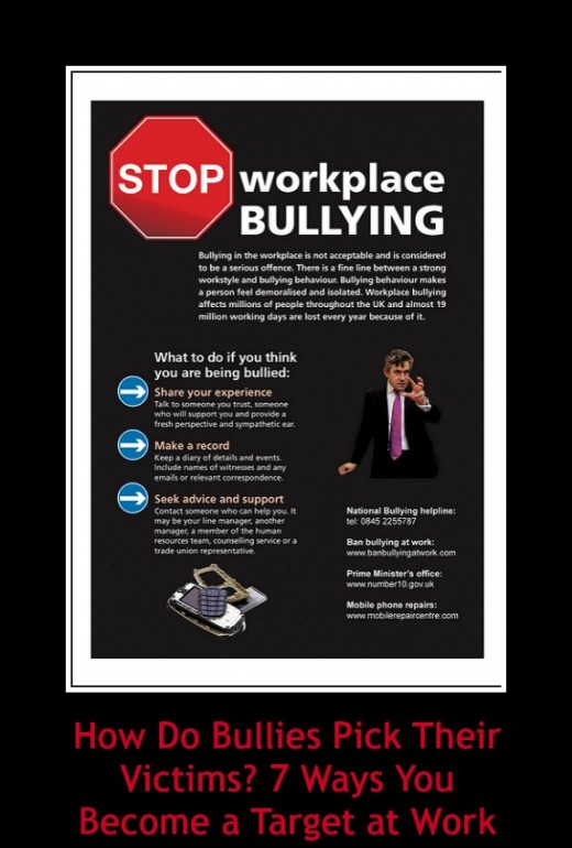 Workplace bullying is a huge problem, leaving its victims stressed, anxious, and even physically ill.