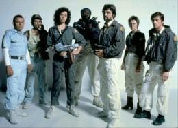 The Nostromo's crew.