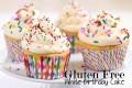 Gluten Free White Birthday Cake