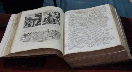 Bible used at swearing in ceremony for President George Washington