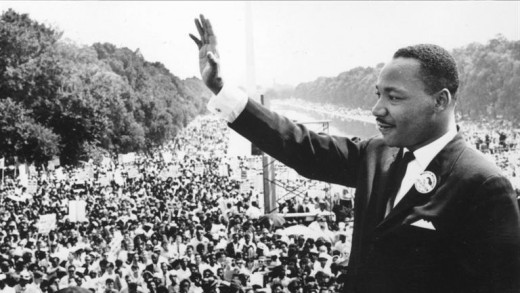 Martin Luther King believed that protesting through  love would overcome the evil that racism is and creates