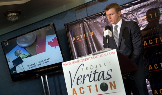 James O'Keefe of Project Veritas