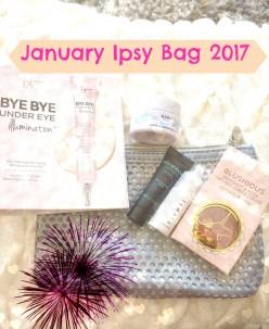 My January Ipsy Bag 2017!