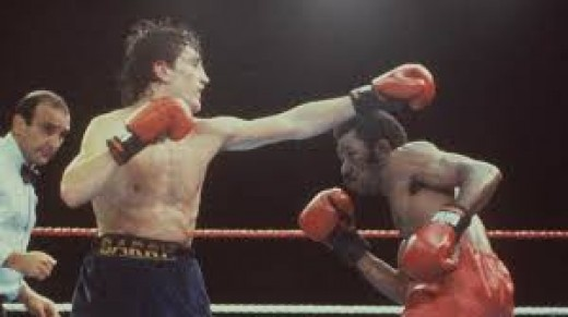 Eusebio Pedroza was defending the featherweight title for the 20th time until he met Barry McGuigan and lost his championship via 15 round decision.