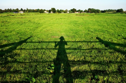The Greater We Are  -  the Longer Shadow We Cast. Let Us Not Limit It with an Equally Big Fence