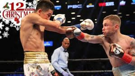 Carl Frampton is two weight division champion. He once held the junior featherweight crown and he currently, as of 2017, holds the junior lightweight championship.
