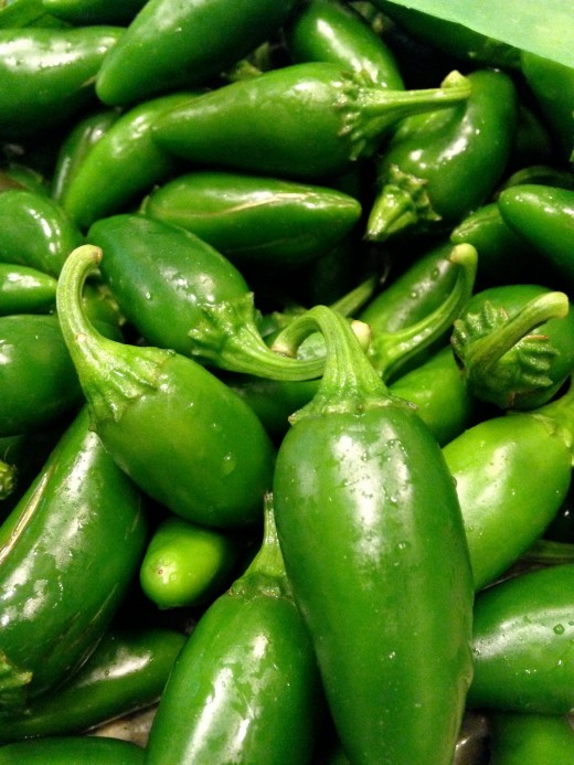 Jalapeno peppers contain capcaisin