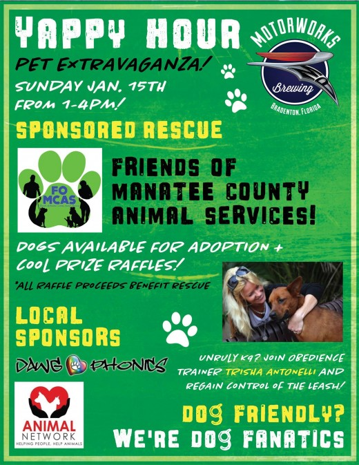 The first to benefit  Manatee County Animal Services