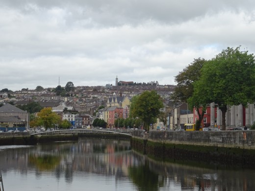 Cork is the city built on the river Lee.