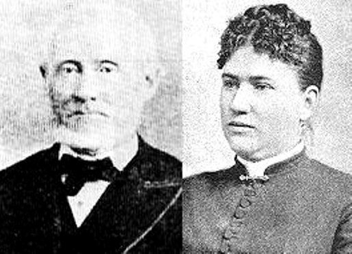 Andrew Jackson Borden and Abby Borden nee` Gray