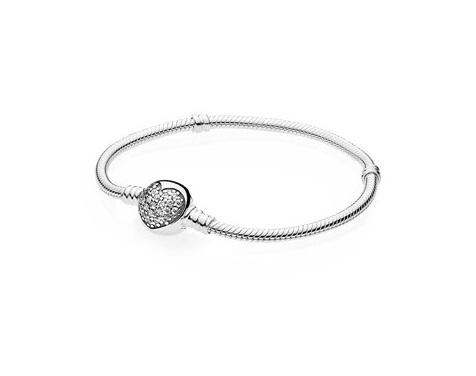 Sparkling Heart bracelet