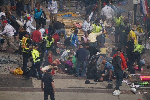 The Boston Marathon bombing occurred on Patriots Day, a Massachusetts holiday