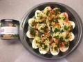 Artichoke Parmesan Tapenade Deviled Eggs Recipe - myPanier