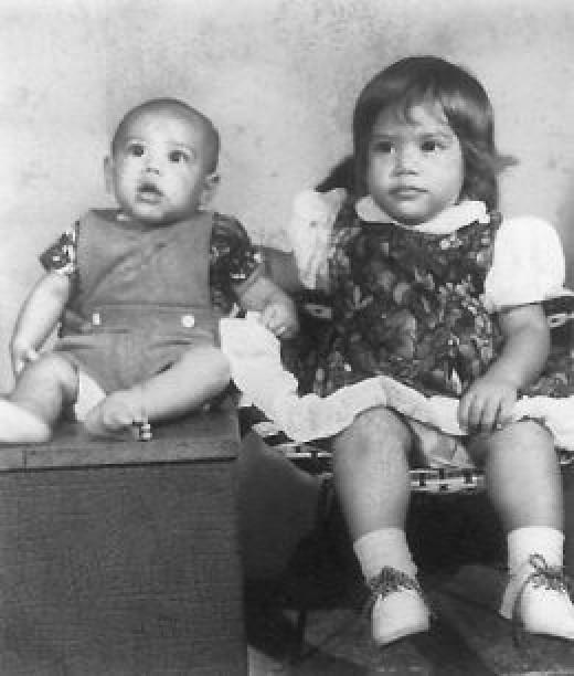 My two beautiful babies in Tonga  Personal photo REK