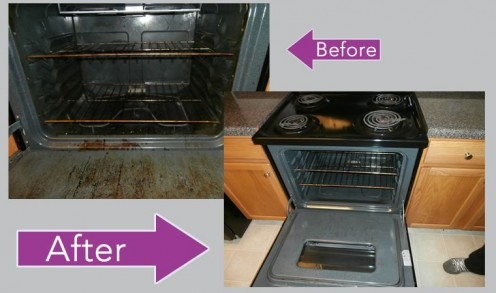Oven Cleaning - Landlord's Bone of Contention