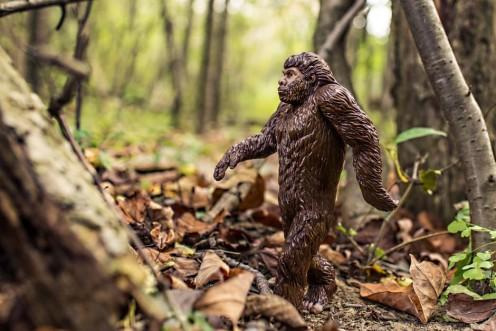 Model of Bigfoot