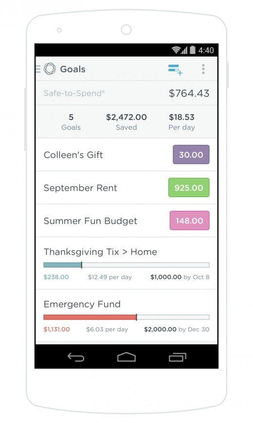 Simple Bank offers some of the best budgeting and goal-setting tools around. The PFM features are well-integrated into the app and make money management a true breeze!