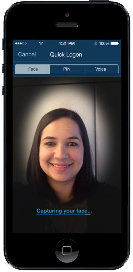 USAA's visual authentication is straight out of the movies, except it's real and available to you! Security measures like these are state of the art and more effective than ever