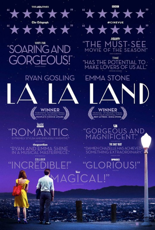 Poster for La La Land. Property of Summit Entertainment.