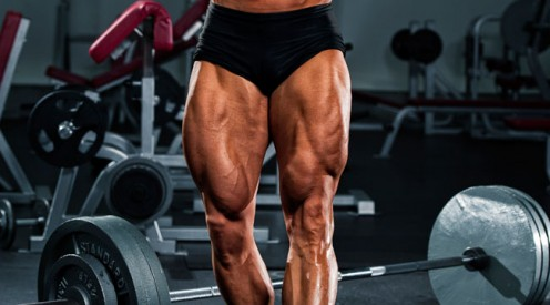 Strong Muscular Legs look Awesome