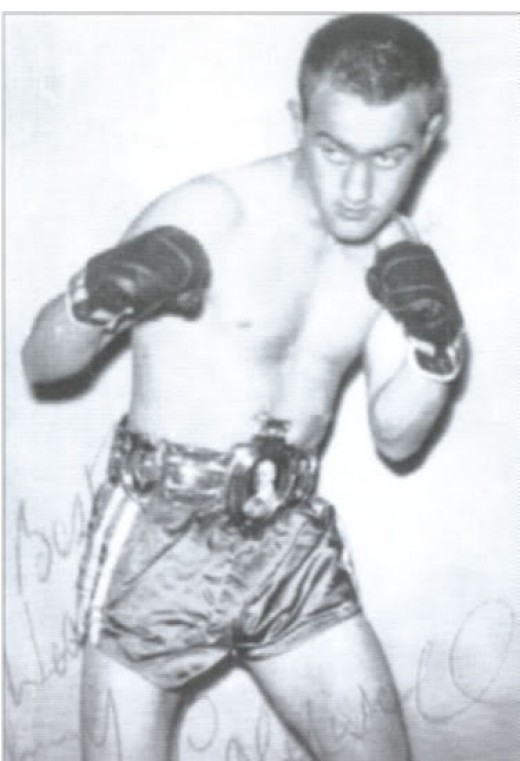 Johnny Caldwell won a bronze medal in the 1956 Olympics and he also won the bantamweight crown as a professional boxer.