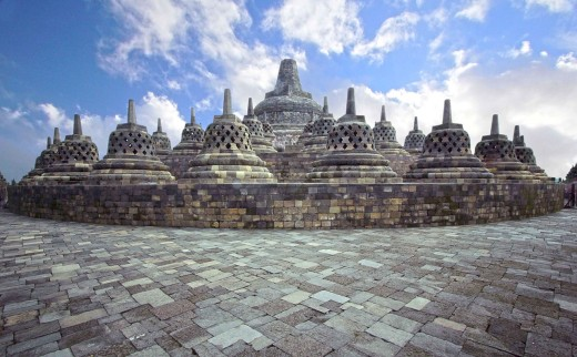 To ascend Borobudur is to follow the footsteps of the Buddha, transcending various tiers of humanly experience.