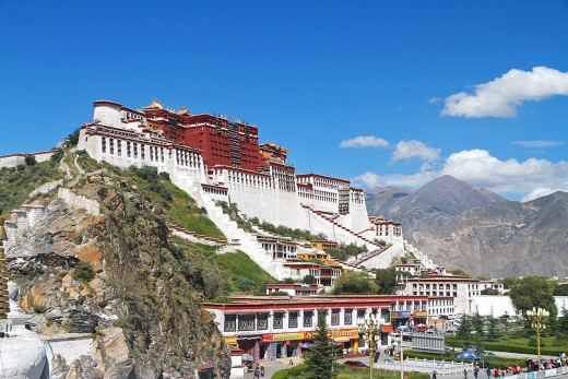 Lhasa is both the spiritual and political capital of Tibet. Correspondingly full of mythical sacred sites and structures.